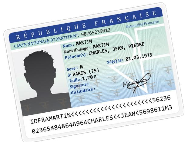 Carte Nationale d'Identité - Vérines